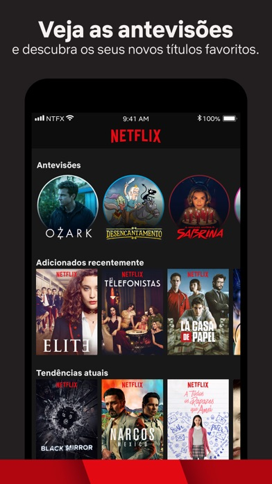 Screenshot for Netflix in Portugal App Store