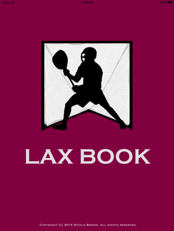 Men's Lax Book