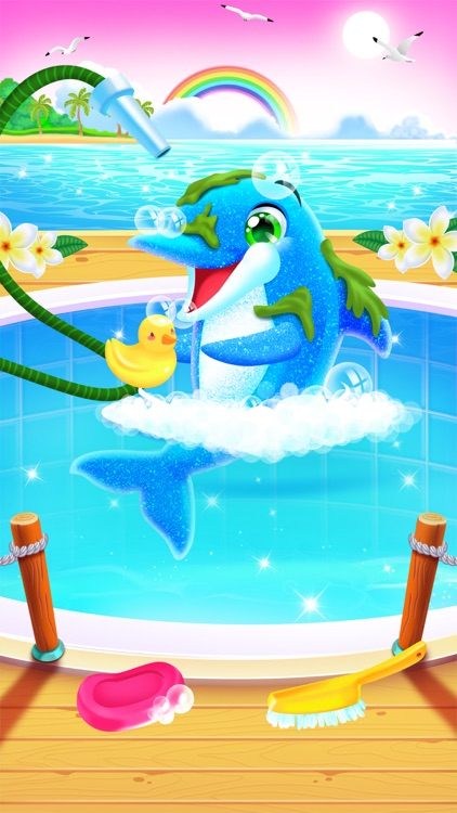 My Baby Twin Dolphins screenshot-4