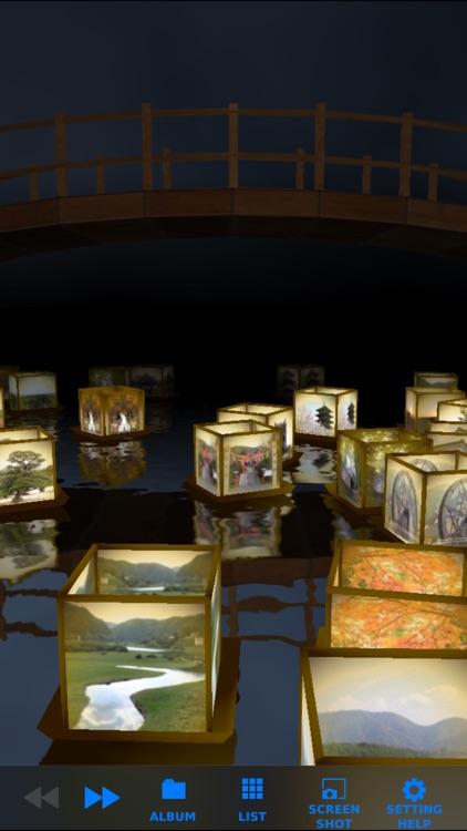 Tourou Nagashi Photo Frame screenshot-0