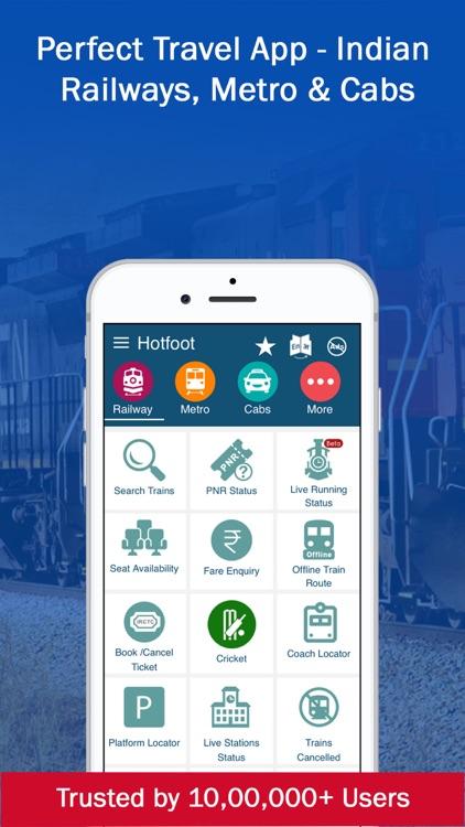PNR, Live Train Status & Metro screenshot-0