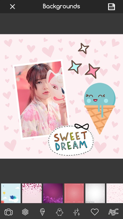 Kawaii Photo Editor Stickers screenshot-3