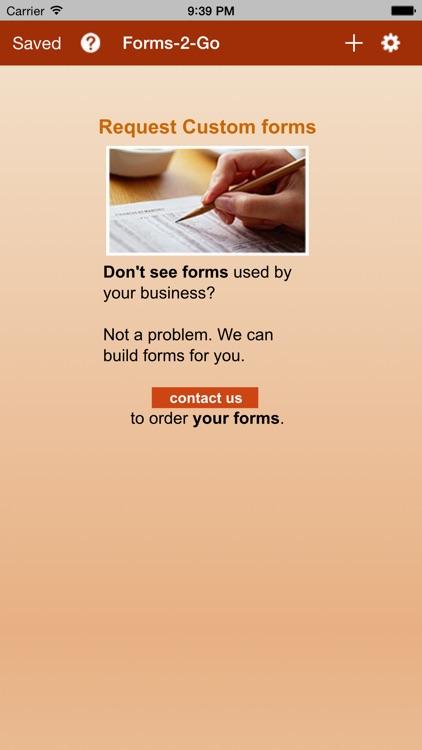 Forms-2-Go screenshot-3