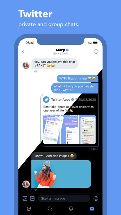 Fake It – The fake chat maker screenshot-5