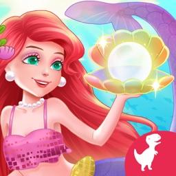 Mermaid Princess Makeup Design