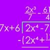 Polynomial Long Division - iPadアプリ