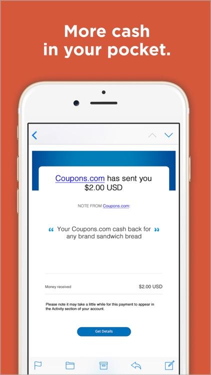 Coupons.com: Cash Back Savings screenshot-4