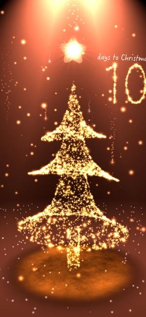 Christmas Countdown 3d Scene On The App Store