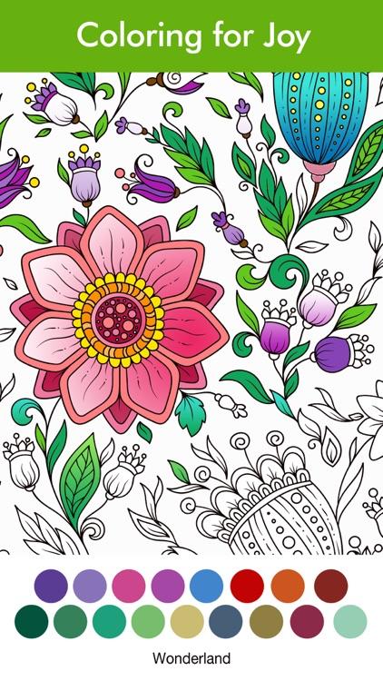 Adult Coloring Book | COLORS screenshot-3