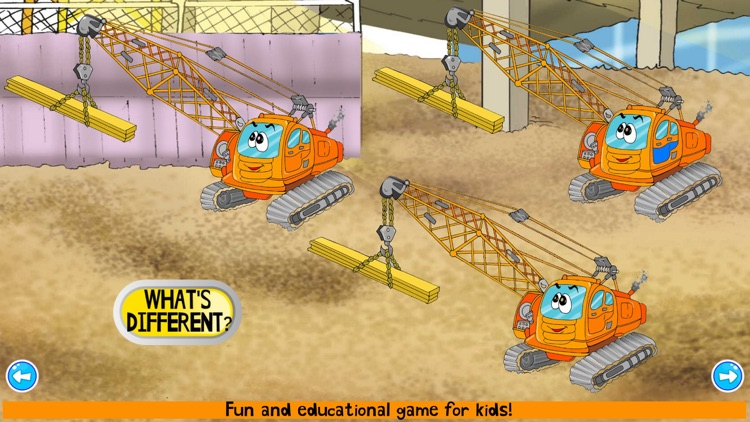 Construction Truck Games ABC screenshot-4