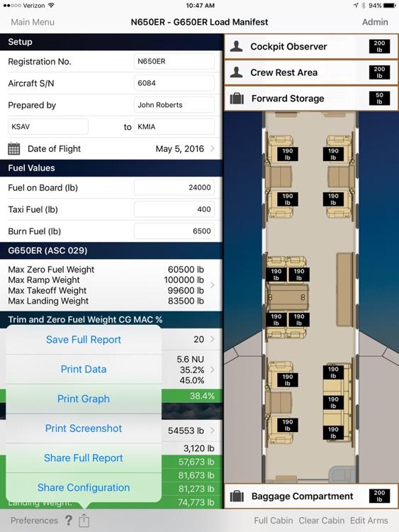Gulfstream PlaneBalance screenshot-3