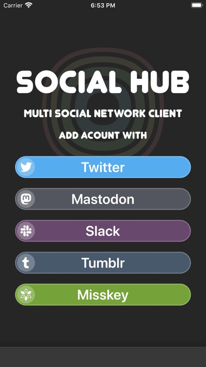SocialHub - SocialMedia Client