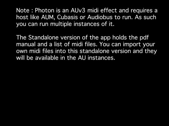 iOS Musician Apps: Photon AU