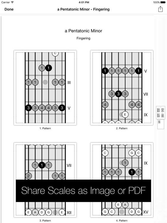 Star Scales HD For Guitar screenshot-4
