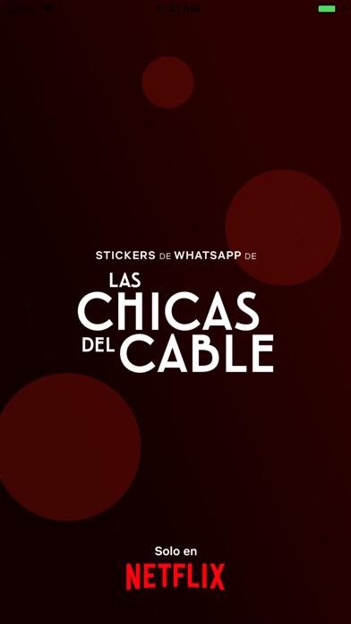 Stickers Las Chicas del Cable screenshot 1