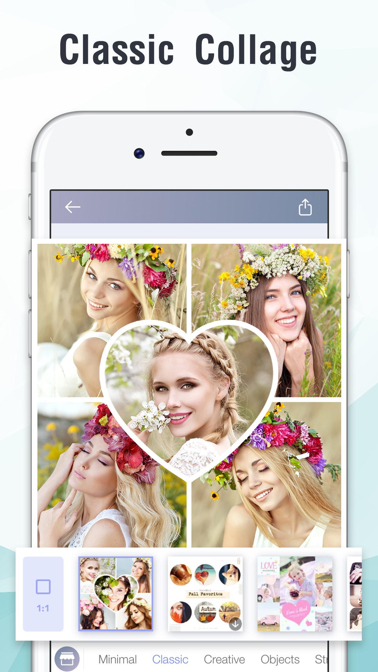 InstaMag - Photo Collage Maker Screenshot