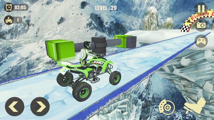 ATV Quad Bike: Mountain Stunts screenshot-5