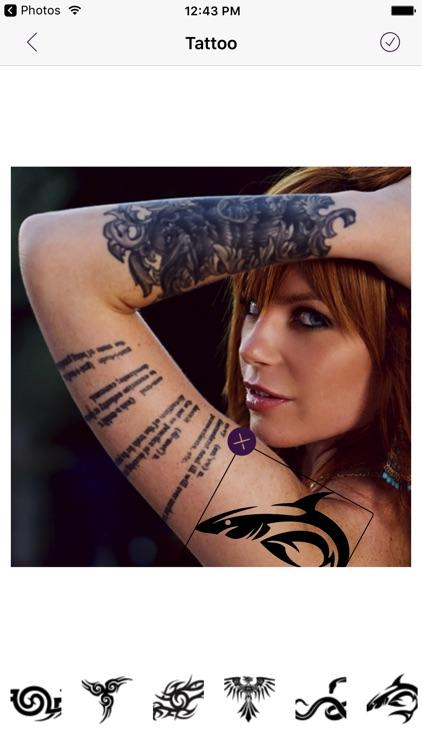 Tattoo My Photo And Name screenshot-4