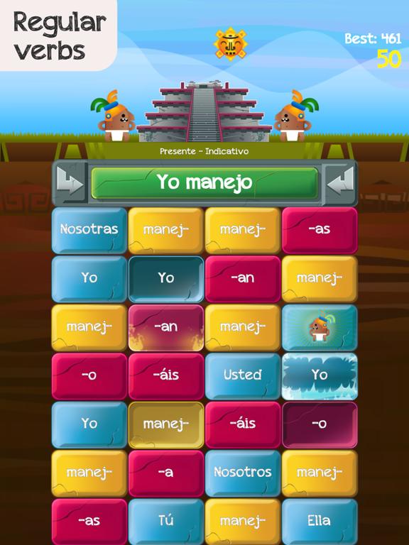 Verb Challenge Spanish screenshot 7