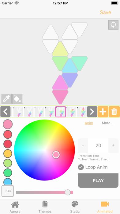 FireflyPro for Aurora Nanoleafのおすすめ画像1