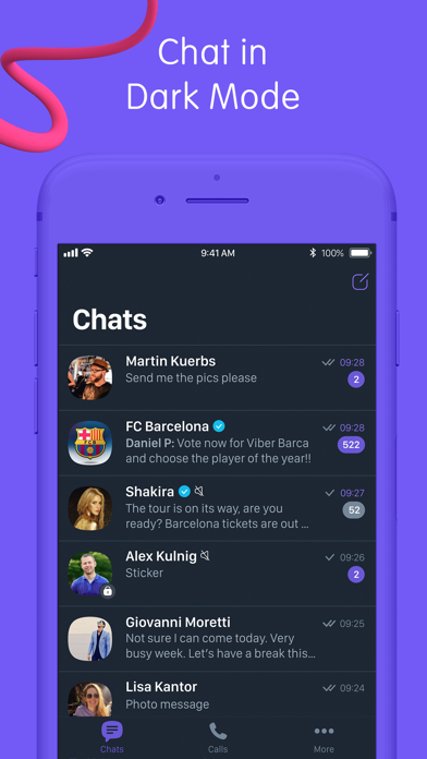Screenshot for Viber Messenger: Chats & Calls in Canada App Store