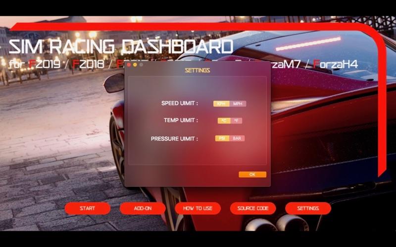Sim Racing Dashboard screenshot 10