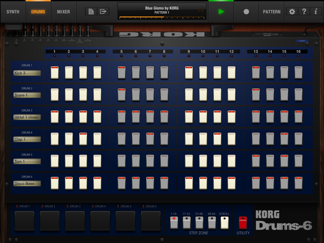 ‎KORG iPolysix for iPad Screenshot