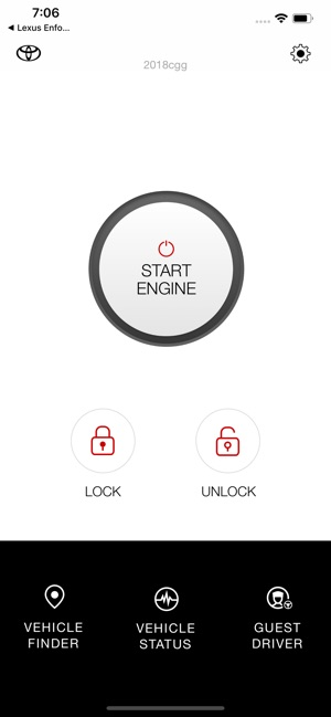 Toyota Remote Connect on the App Store