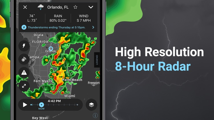 Storm - Weather radar & maps screenshot-9