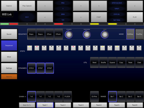 6X806 Noise Drum Sequencer