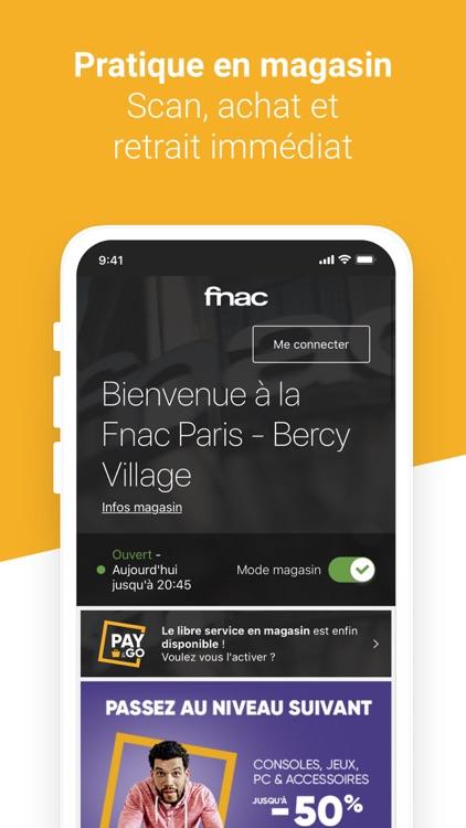 FNAC - Achat en ligne screenshot-3