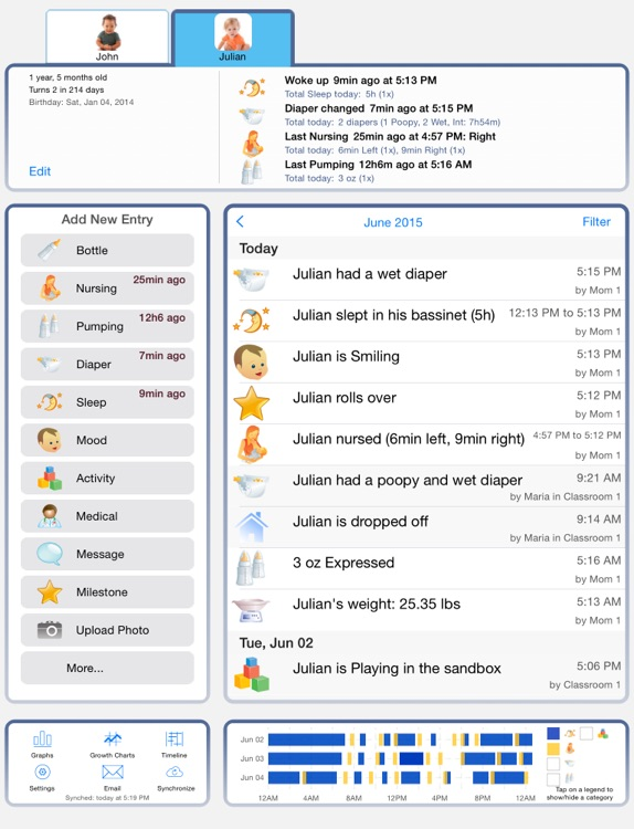 Baby Connect for iPad screenshot-0