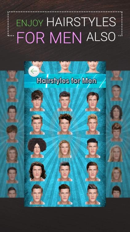 Perfect Hairstyle-Women & Men screenshot-8