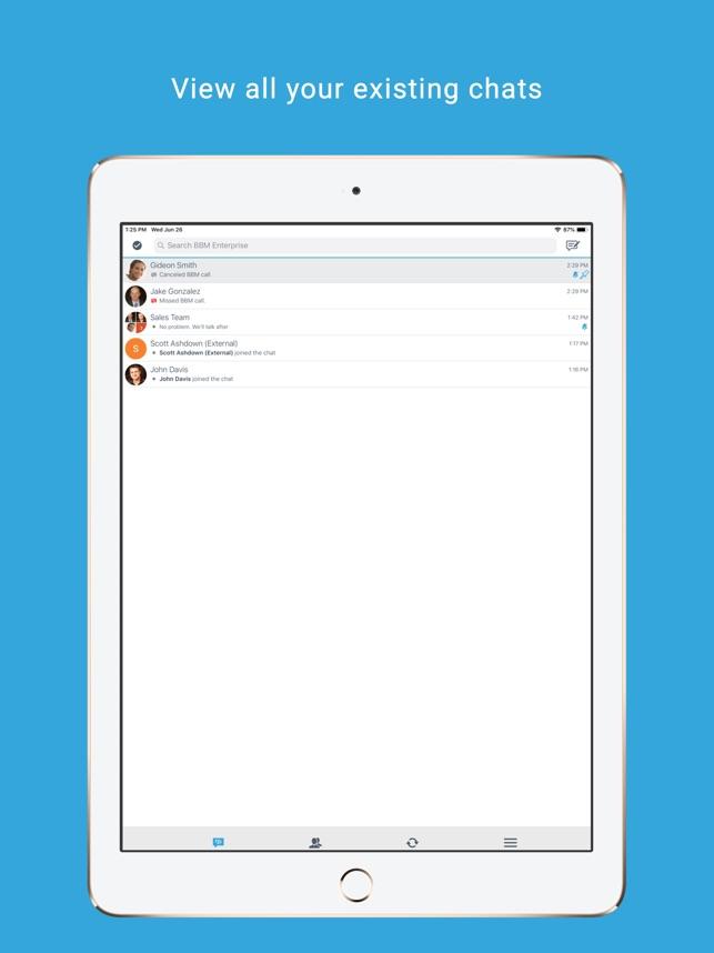 BBM Enterprise on the App Store