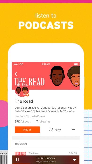 SoundCloud - Music & Audio app image