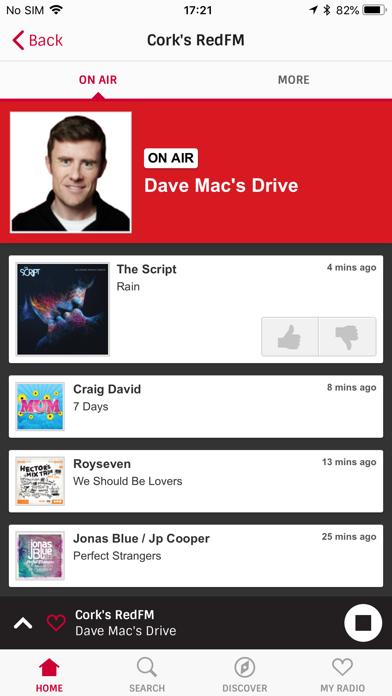 Irish Radioplayer screenshot three
