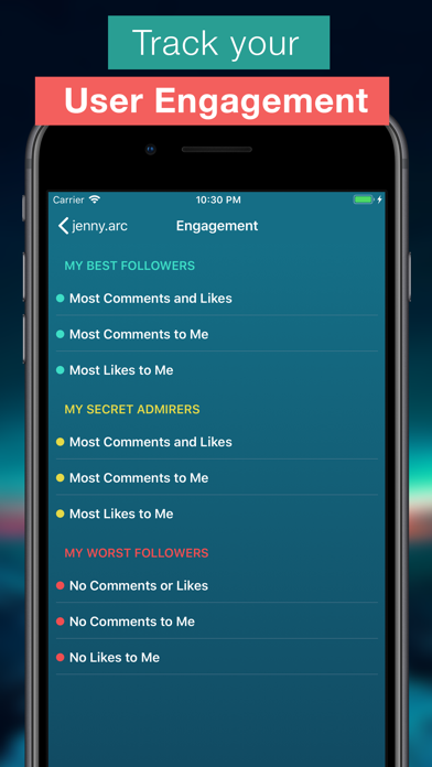 Screenshot for Followers Pro + for Instagram in United States App Store