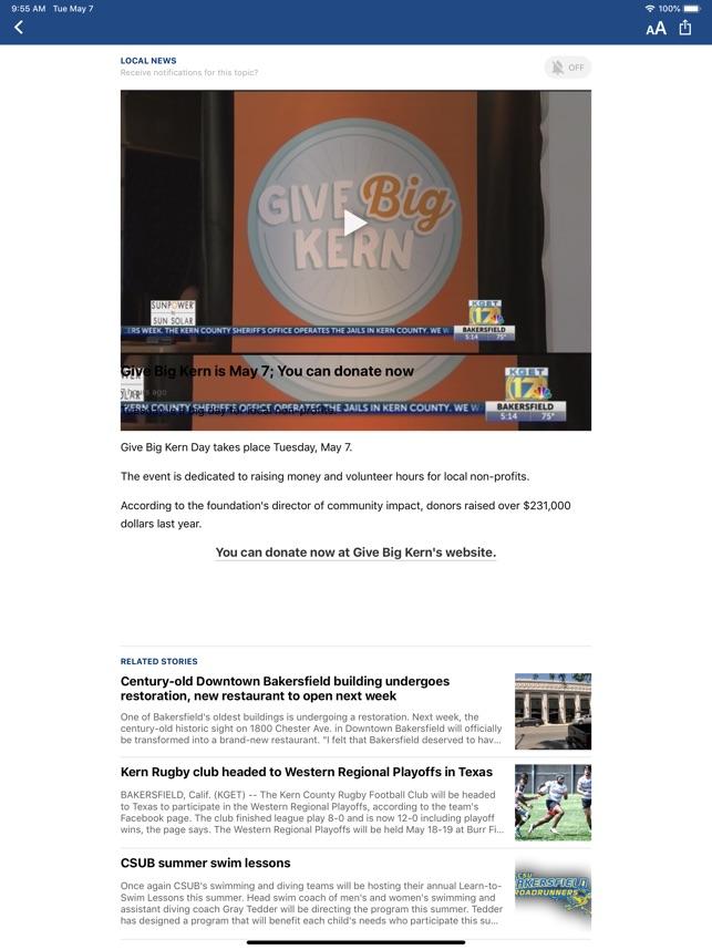 channel 17 news bakersfield