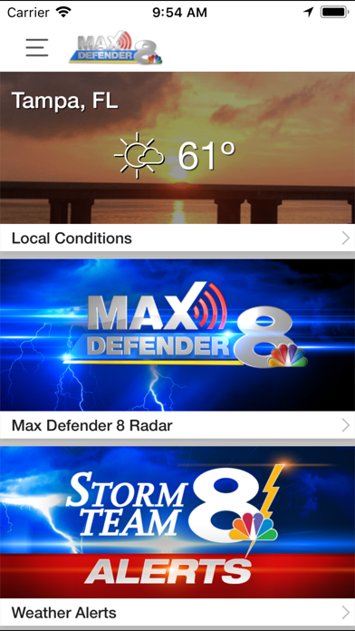 Max Defender 8 Weather App | App Price Drops