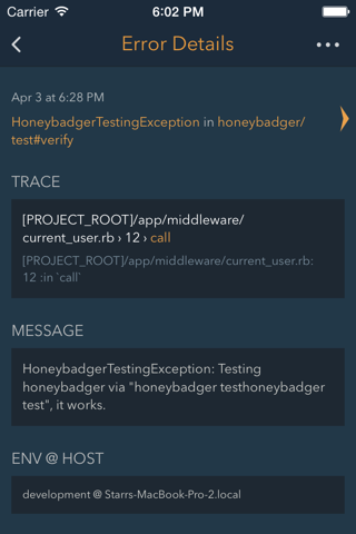 Honeybadger Mobile - náhled