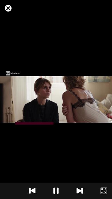 Screenshot of IP Television App