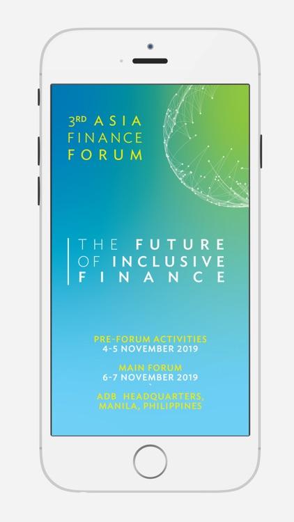3rd Asia Finance Forum