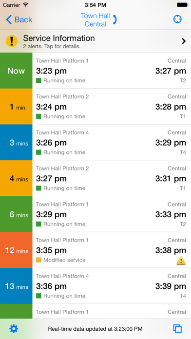 TripView - Sydney & M... screenshot1
