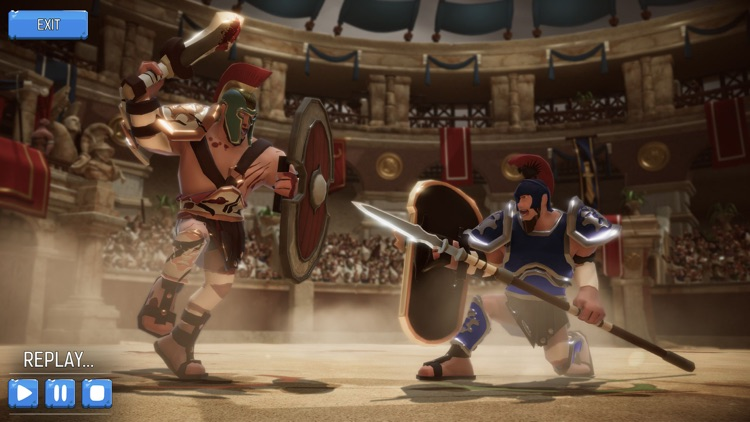 Gladiator Heroes Clash screenshot-3