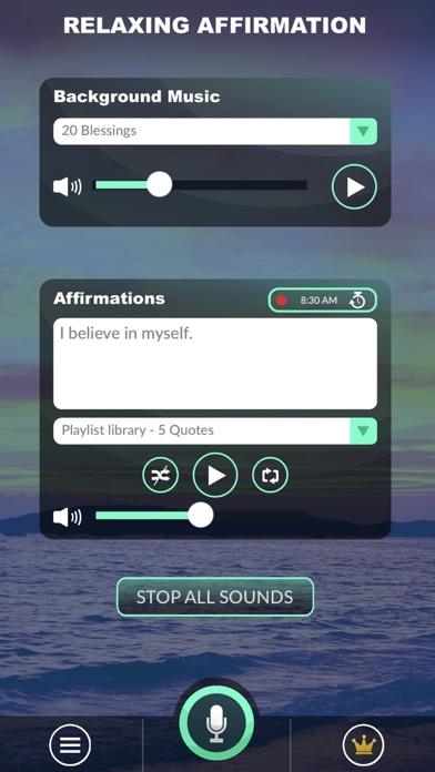 Positive Affirmations App screenshot 4