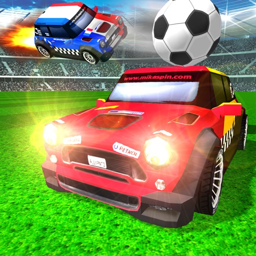 Rocket Champions Soccer Car