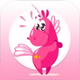 Unicorn Emoji Stickers PLUS!