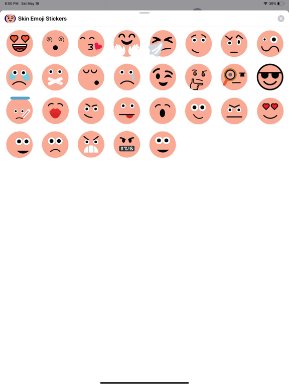 Skin Emoji Stickers screenshot 4