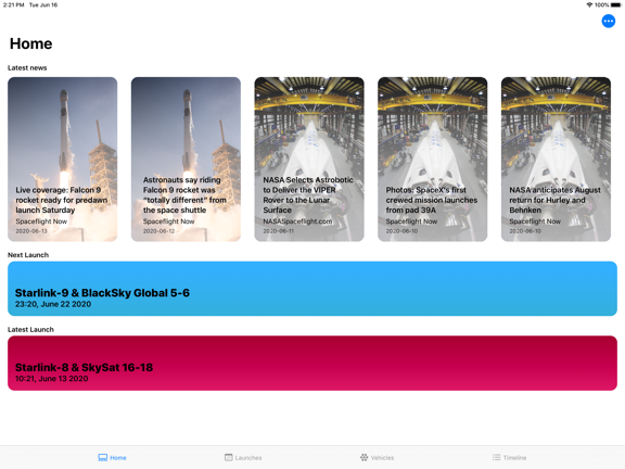 SpaceX Explorer screenshot 9