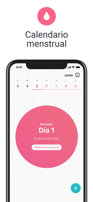 Aplicacion Calendario Menstrual.Flo Calendario Menstrual En App Store